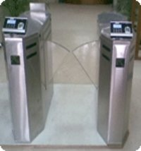 Stainless Steel Retractable Flap Barriers