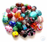 Fancy Mix Glass Beads