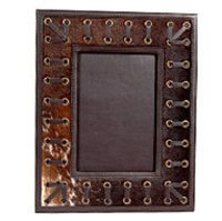 Antique Leather Frame