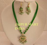 Handmade Lakh Kundan Jewellery