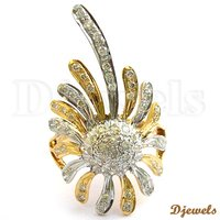 Stylish Diamond Ladies Ring