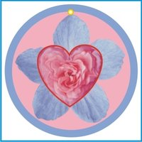 HEART IN FLOWER AIR FRESHENER