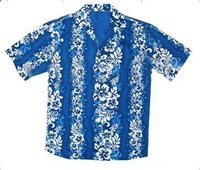 Poly Cotton Hawaii Shirt