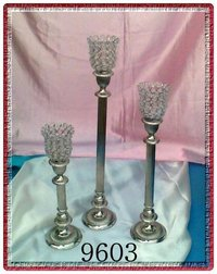 Crystal Candelabras Set of 3 Pcs