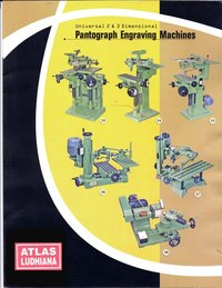 Pantograph Letter Engraving Machine
