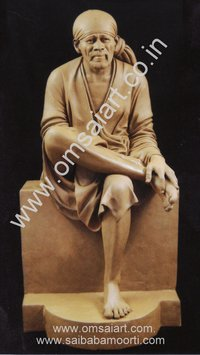 Sai Baba Statue Clay Model