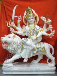 Marble Statue Of Durga