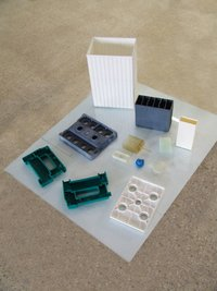 Battery Container & Lid Moulds