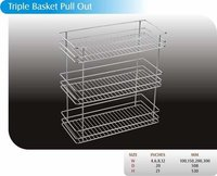 Triple Basket Pull-Out