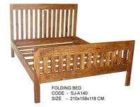 Handcrafted Wooden Bed