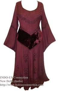 Renaissance Gothic Regal Princess Dress Gown