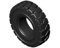 Solid Forklift Tyres