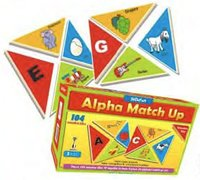 Alphabet Match Up Tiles