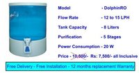 Domestic Dolphin RO Water Purifier