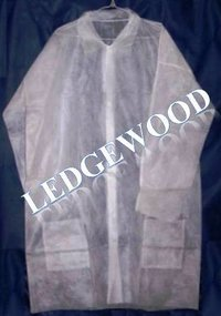 Disposable Non-Woven Lab Coat