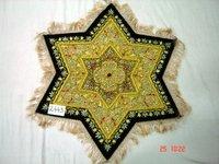 Hand Embroidered Jewel-Stone Carpet