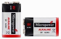 Alkaline 9V Battery