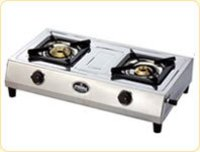 S.S. Body Double Burner Gas Stove
