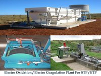Electro Oxidation / Electro Coagulation Plant for STP / ETP
