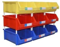 Stackable Plastic Bins