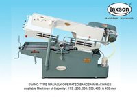 Metal Cutting Manual Bandsaw Machine