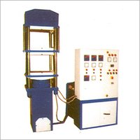 Fully Automatic Rubber Moulding Press Plc Controlled