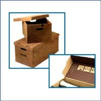 Corrugated Boxes With Lid