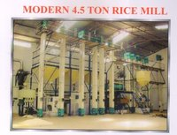 MODERN PATTERN RICE MILL PLANT