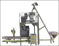 SEMI AUTO POWDER PACKING MACHINE