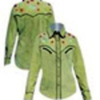 GREEN COLOR LADIES SHIRTS