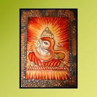 Fusion Om Ganesha Paintings