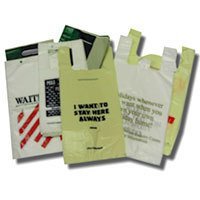 Bio-Degradable Vest Carrier Bags