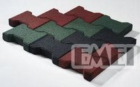 Dogbone Rubber Mat Tile