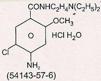 Metoclopramide Hcl B.P / Ip