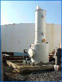 Chlorine Leak Absorption System With Neutralization Tank