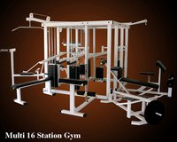 Multi 16 Station Gym Machine