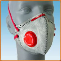 Fold Flat Style Valved Respirators For Welding Fumes