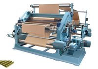 High Speed Single Face Paper Corrugation Machines Oblique Type