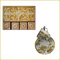 Decorative Precious Metals For Pottery & Glass