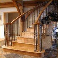 Wooden Designer Staircase