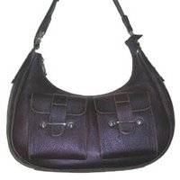 Ladies Leather Office Bag