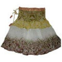 MULTI COLOR SHORT LADIES SKIRTS