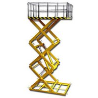 Multi Stage Scissor Lift