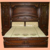 Darkwood Double Bed