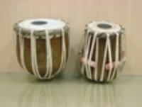 WOODEN MINI TABLA SET
