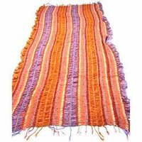 Stripe Design Lycra Stole