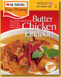 BUTTER CHICKEN TANDOORI