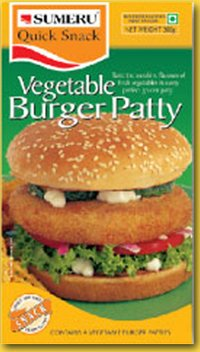 Vegetables Burger Patty