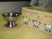 Stainless Steel Ice Cream Cup