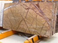 FOSSIL GOLD MARBLE SLAB